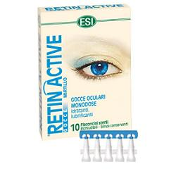 ESI RETIN ACTIVE MIRTILLO GOCCE OCULARI 10 FLACONCINI MONODOSE DA 0,5 ML - Farmaunclick.it