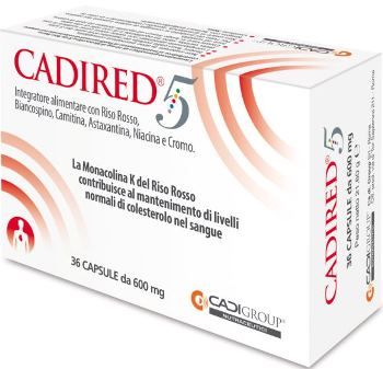 CADIRED 5 36 CAPSULE - Farmacia Bartoli