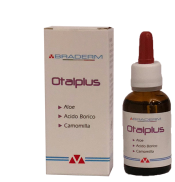 BRADERM OTALPLUS GOCCE AURICOLARI 30 ML - Spacefarma.it