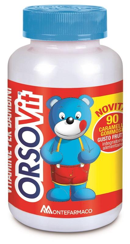 ORSOVIT CARAMELLE GOMMOSE 90 PEZZI PROMO - Farmacento