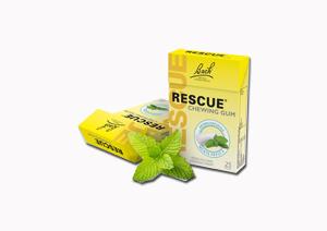 RESCUE CHEWING GUM MENTA DISPLAY 6 PEZZI - Farmabros.it