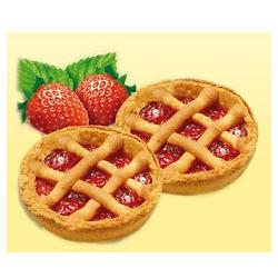 HAPPY FARM CROSTATA FRAGOLE SENZA GLUTINE 180 G - Farmafirst.it