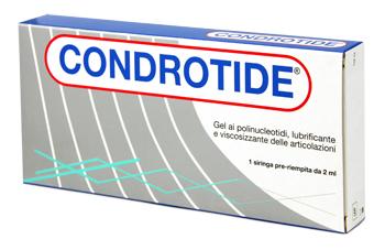 SIRINGA INTRA-ARTICOLARE CONDROTIDE GEL POLINUCLEOTIDI 2% 2 ML - Farmacia Castel del Monte