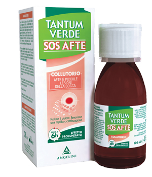 TANTUM VERDE SOS AFTE COLLUTORIO 120 ML - La farmacia digitale