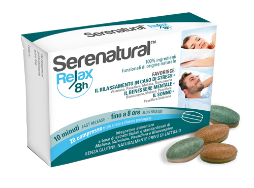 SERENATURAL RELAX 8H 20 COMPRESSE - Farmia.it
