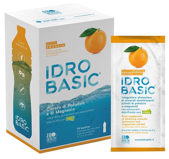 IDROBASIC ARANCIA 15 BUSTE - farmaciadeglispeziali.it