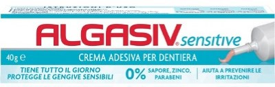 ALGASIV SENSITIVE CREMA ADESIVA PER DENTIERE PROMO - Farmaci.me