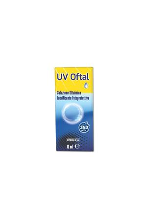 UV Oftal  Soluzione Oftalmica Lubrificante Fotoprotettiva 10 ml