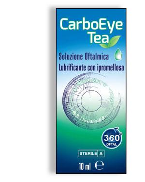 CARBOEYE TEA SOLUZIONE OFTALMICA LUBRIFICANTE CON IPROMELLOSA 10 ML - Farmacia Massaro