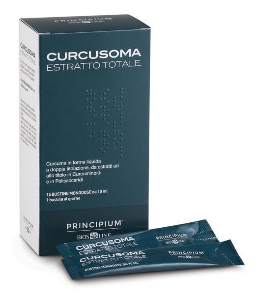 PRINCIPIUM CURCUSOMA ESTRATTO TOTALE 15 BUSTINE 10 ML - Farmaciasconti.it
