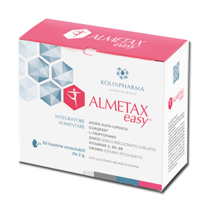 ALMETAX EASY 30 BUSTINE OROSOLUBILI 60 G - La farmacia digitale