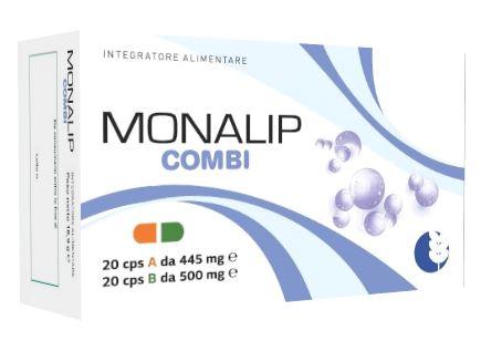 MONALIP COMBI 20 CAPSULE A 445 MG + 20 CAPSULE B 500 MG - Farmacia Castel del Monte