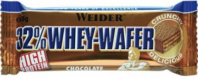 WEIDER 32% WHEY BARRETTA WAFER CIOCCOLATO 35 G - Farmacia Massaro