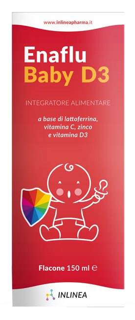 ENAFLU BABY D3 SOLUZIONE ORALE 150 ML - Farmafamily.it