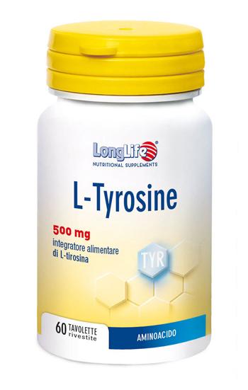 LONGLIFE L TYROSINE 60 TAVOLETTE - Farmastar.it