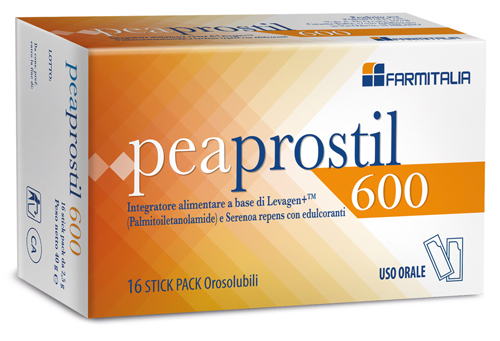 PEAPROSTIL 600 16 STICK PACK OROSOLUBILI - La farmacia digitale