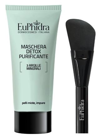 EUPHIDRA MASCH DETOX PURIFICANTE CON PENNELLO - Farmaci.me