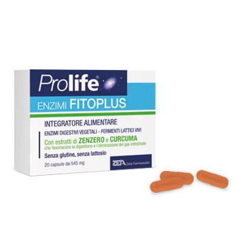 PROLIFE ENZIMI FITOPLUS 20 CAPSULE - Farmaciaempatica.it