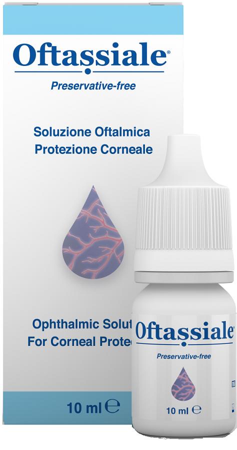Oftassiale Soluzione Oftalmica Protezione Corneale 10 ml