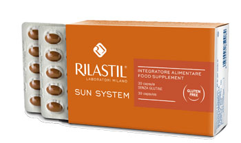 RILASTIL SUN SYSTEM 30 CAPSULE PREZZO SPECIALE - Farmacia Massaro