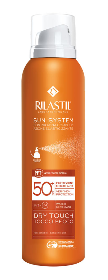 RILASTIL SUN SYSTEM DRY TOUCH SPF 50+ 200 ML - La farmacia digitale