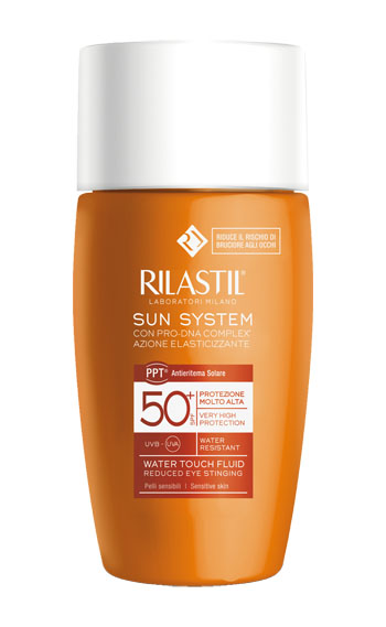 RILASTIL SUN SYSTEM WATER TOUCH SPF 50+ 50 ML - La farmacia digitale