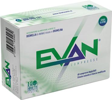 EVAN 60 COMPRESSE - Farmacia Bartoli