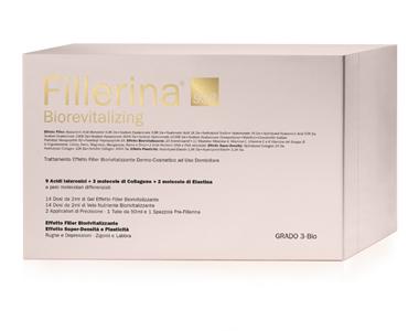 FILLERINA 932 BIOREVIT-INTENSIVE FILLER GRADO 3-BIO + PREFILLERINA FLAC 30+30 ML + 1 TUBO 50 ML - pharmaluna