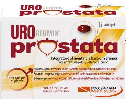 UROGERMIN PROSTATA 15 SOFTGEL - FARMAEMPORIO