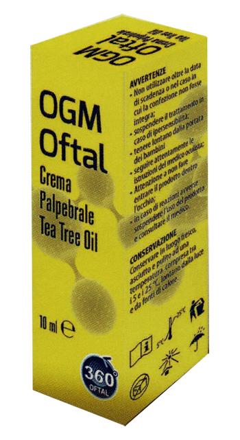 OGM OFTAL CREMA PALPEBRALE 10 ML - Farmastar.it