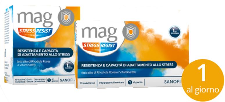 MAG STRESS RESIST 30 COMPRESSE - Parafarmacia Tranchina