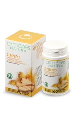 ARMORES NATURA ZENZERO 60 CAPSULE - Farmaseller