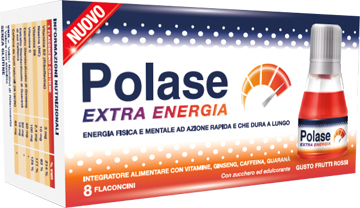 POLASE EXTRA ENERGIA 8 FLACONCINI - Farmafamily.it