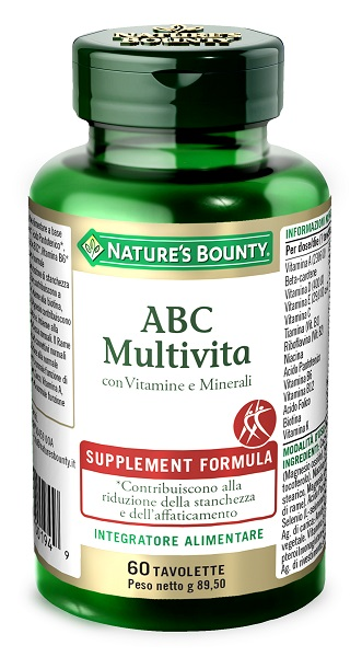 ABC MULTIVITA 60 TAVOLETTE - farmaciadeglispeziali.it