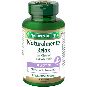 NATURALMENTE RELAX 100 CAPSULE-scadenza 02/20 - Farmacento