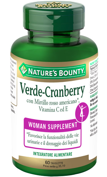 VERDE CRANBERRY 60 TAVOLETTE - farmaciadeglispeziali.it