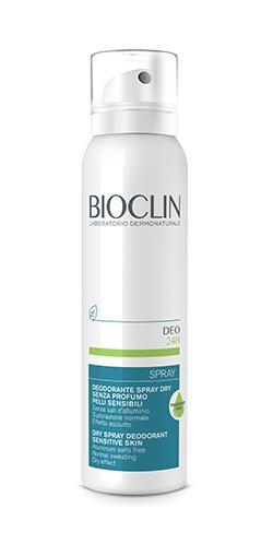 BIOCLIN DEO 24H SPRAYAY DRY SENZA PROFUMO - farmaciadeglispeziali.it
