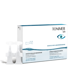 TONIMER LAB GOCCE OCULARI MONODOSE 15 X 0,5 ML - La farmacia digitale