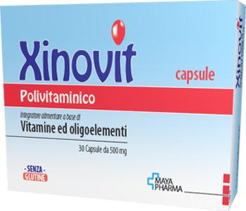 XINOVIT POLIVITAMINICO 30 CAPSULE DA 500 MG - Farmaseller