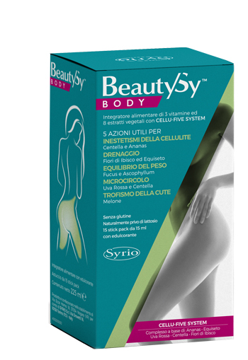 BEAUTY SY BODY 15 STICK PACK - Zfarmacia