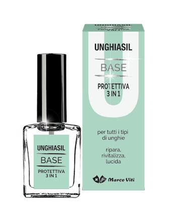 UNGHIASIL BASE PROTETTIVA 3 IN 1 10 ML - Farmastar.it