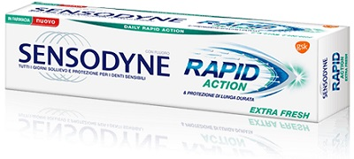SENSODYNE RAPID ACT EXTRA FRESH - latuafarmaciaonline.it