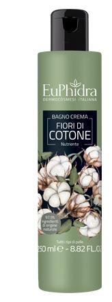 EUPHIDRA BAGNOCREMA NUTR COTONE BAGNO CREMA IN FLACONE CON ETICHETTA - Farmajoy