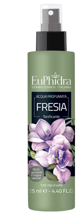 EUPHIDRA ACQUA PROFUMATA FRESIA IN FLACONE CON ETICHETTA POMPA SPRAY - Farmaciaempatica.it