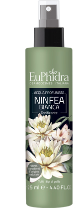 EUPHIDRA ACQUA PROFUMATA NINFEA IN FLACONE CON ETICHETTA POMPA SPRAY - Farmaciaempatica.it