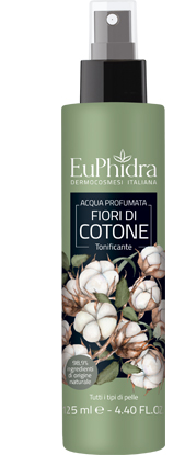 EUPHIDRA ACQUA PROFUMATA COTONE SPRAY 125 ML - FARMAPRIME