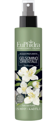 EUPHIDRA ACQUA PROFUMATA GELSOMINO IN FLACONE CON ETICHETTA POMPA SPRAY - Farmaciaempatica.it