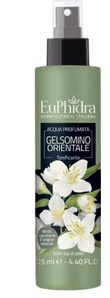EUPHIDRA ACQUA PROFUMATA GELSOMINO IN FLACONE CON ETICHETTA POMPA SPRAY - Zfarmacia