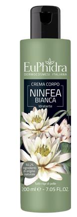 EUPHIDRA CREMA CORPO IDRATANTE NINFEA IN FLACONE CON ETICHETTA - Farmacia Centrale Dr. Monteleone Adriano