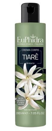 EUPHIDRA CREMA CORPO IDRATANTE TIARE' IN FLACONE CON ETICHETTA - Farmastar.it
